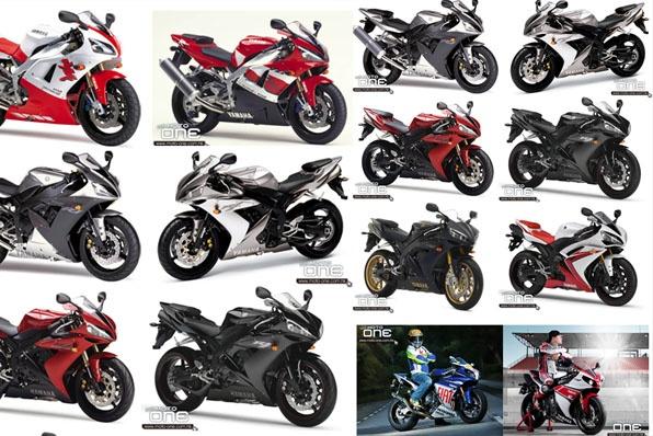 1998-2012 YAMAHA YZF-R1現代Superbike啟蒙