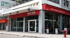 MAN WAI MOTORCYCLE CENTRE <br>文偉電單車行