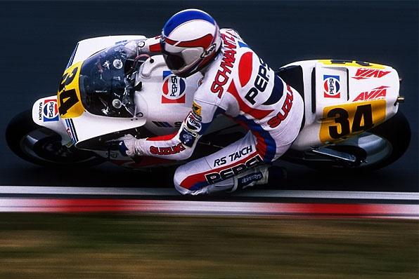 1988澳門格蘭披治大賽-GP500世界冠軍史雲斯視對手如無物
