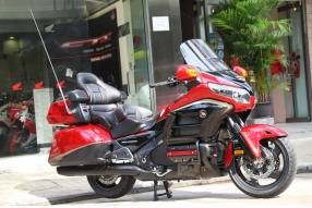 2015 HONDA GOLD WING 40th ANNIVERSARY 豪華金翼40週年紀念版抵港