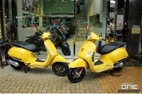 2017 VESPA Sprint 150 & GTS Super 300-檸檬黃新色抵港