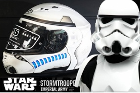 HJC x Star War 系列 CS-15 Storm Trooper│戰士的痕跡│售價$1380