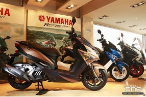 2018 YAMAHA FORCE 155 CYBER PUNK 特仕版登場