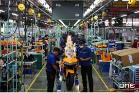 實地參觀泰國 GPX RACING 新廠房 - 全線車系泰國生產製造