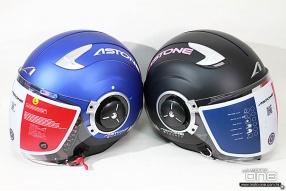 法國ASTONE DJ11及RST - 兩款不同風格的實用開面頭盔