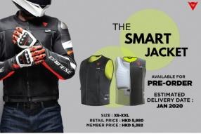 DAINESE THE SMART JACKET 高科技安全氣囊背心 - DAINESE HK現正接受預訂!