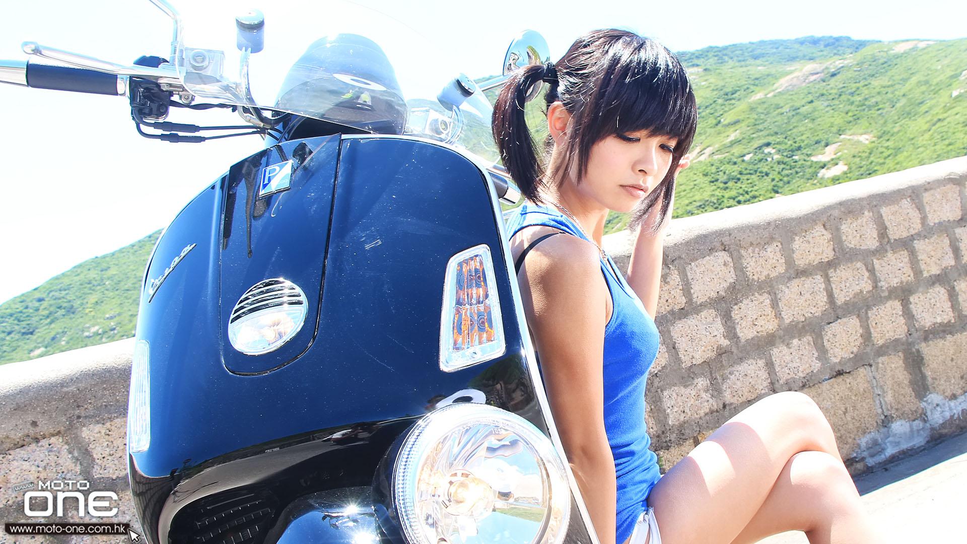 2013 vespa gtv 300ie x 小希《疯狂女假面》