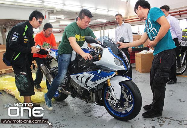 2013 bmw s1000rr hp4 亚洲首2台率先抵港 - 宝马生活