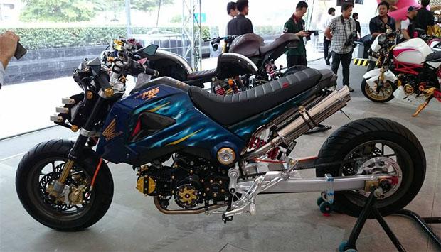 本田msx摩托车