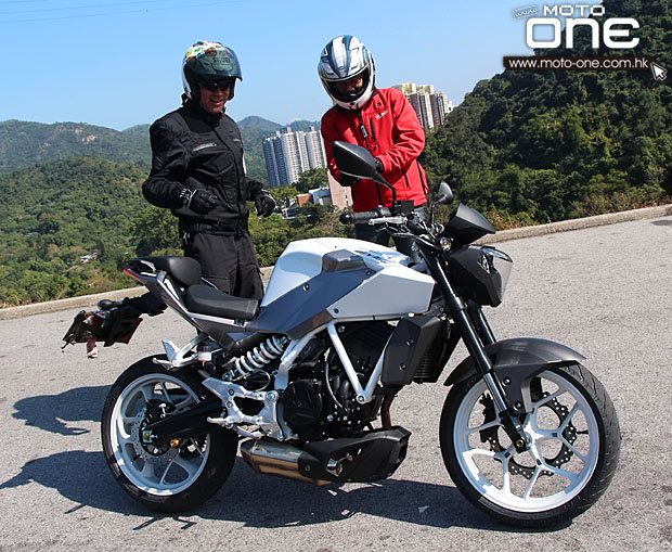 2014 hyosung gd250n x-5 test