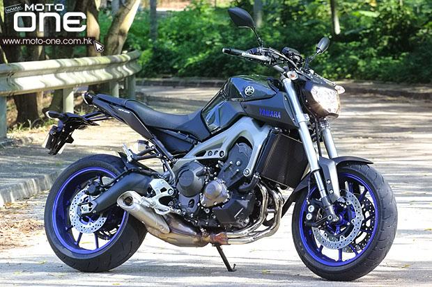 2014 yamaha mt-09 test moto-one.com.hk