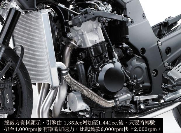 KAWASAKI ZZ-R1400