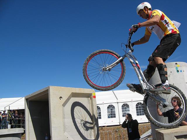 攀爬自行车