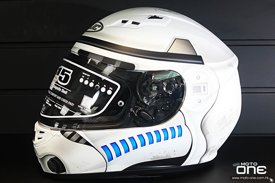 2018 HJC x Star War CS-15 Storm Trooper