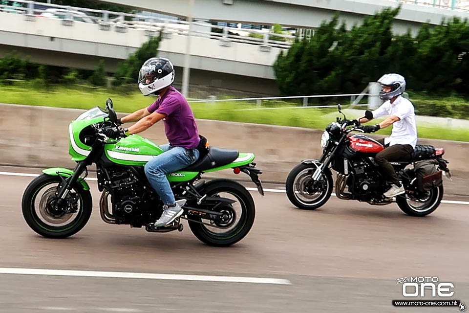 2018 KAWASAKI Z900RS AND Z900RS Cafe