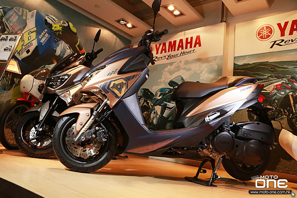 2018 YAMAHA FORCE 155 CYBER PUNK
