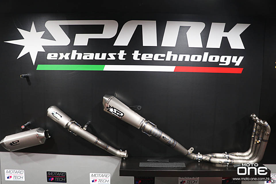 2018 SPARK EXHAUST TECHNOLOGY