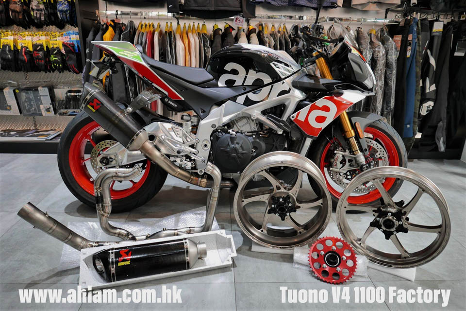 2018 APRILIA Tuono V4 Factory + OZ WHEELS