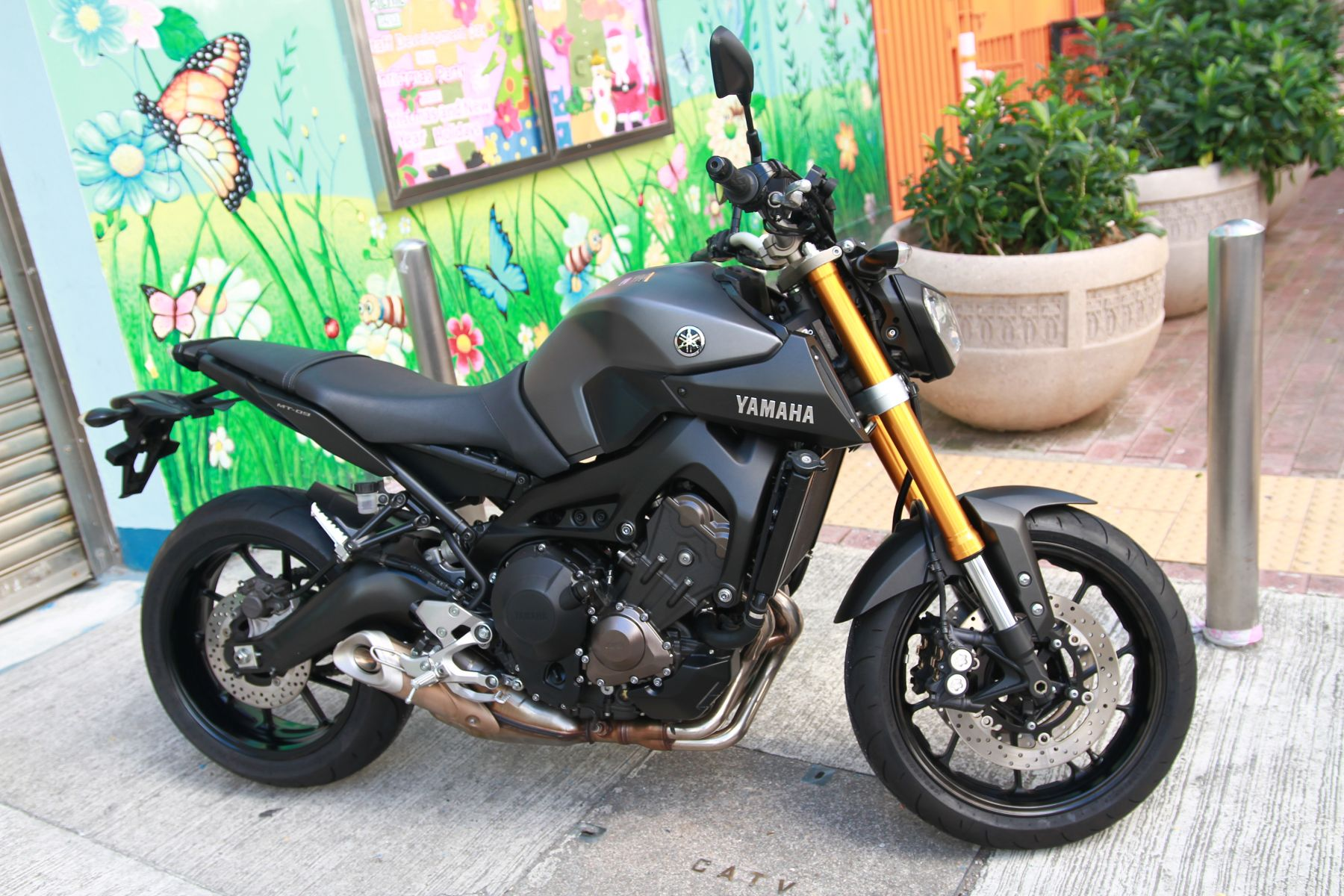 YAMAHA MT09 (NO ABS) / 2015